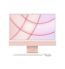 "iMac 24"" 4.5K M1 8C CPU 7C GPU 8GB RAM 256GB SSD (2021) - Pink"