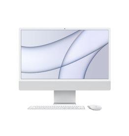 """iMac 24"""" 4.5K M1 8C CPU 7C GPU 8GB RAM 256GB SSD (2021) - Silver"""