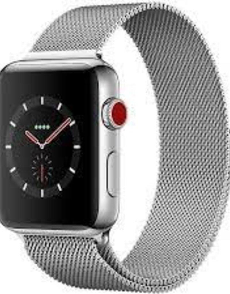 Apple Watch Series 3- Stainless Steel- 42mm