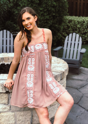Ada Embroidered Dress
