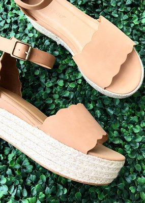 Scalloped Espadrille