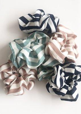 Striped Scrunchie