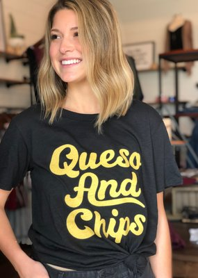 Queso and Chips Tee