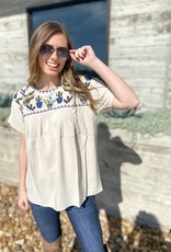 Carley Cactus Layerz Blouse