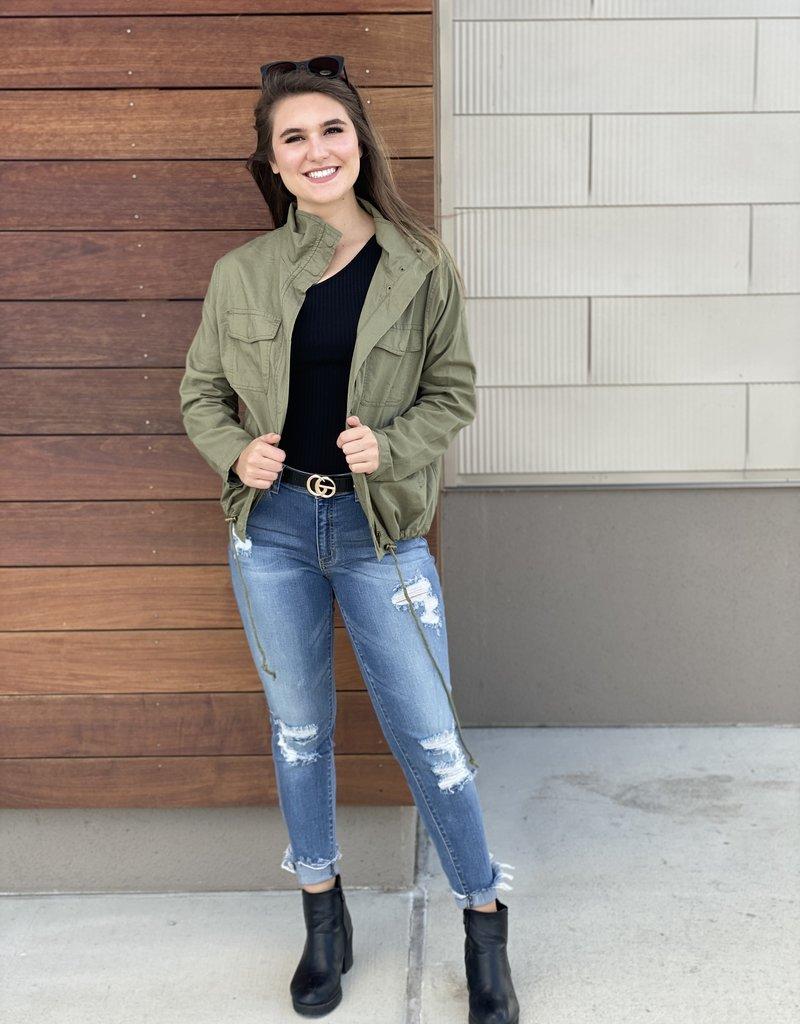 Olive Utility Jacket