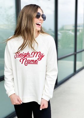 Sleigh My Name Pullover