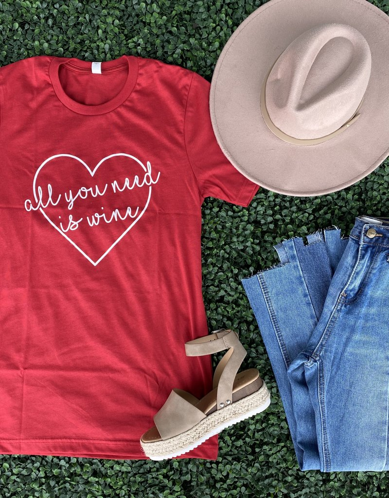All You Need Is Wine Tee