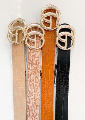 Large Gucci Dupe Belt
