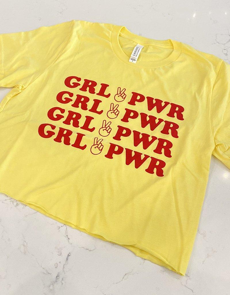 Girl Power Peace Tee