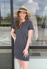Pocket Straight Fit T Shirt Dress