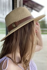 Panama Hat with Band and Ring