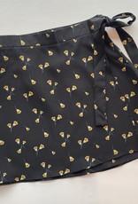 Floral Wrap Mini Skirt