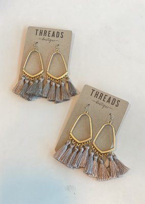 5 Fringe Open Point Earring