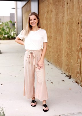 Pin Striped Flare Pants