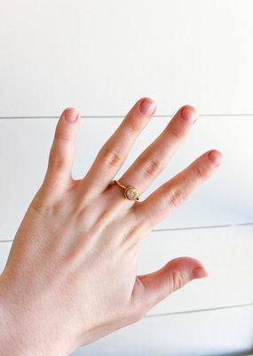 Amber Quartz Ring - Kinsley Armelle