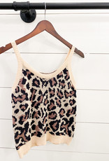 Leopard Sweater Tank