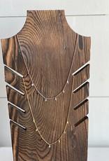 Lightning and Stone Short Necklace