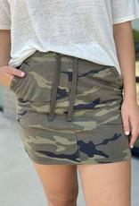 Drawstring Timber Skirt