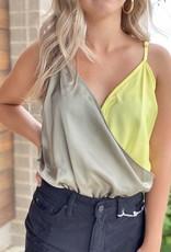 Color block Seamless Bottom Bodysuit