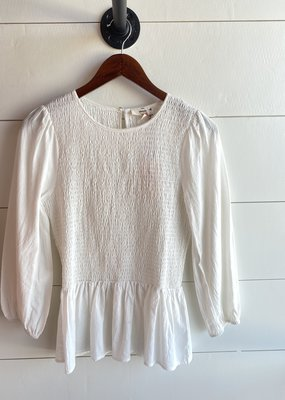 Scrunch Middle Top and Flare Sleeve