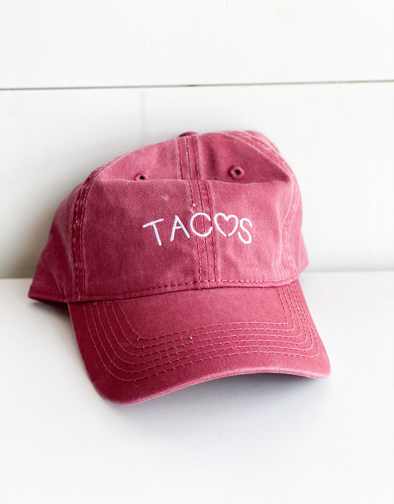 Tacos Heart Baseball Cap