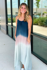 Ombre 3 Tone High Low Maxi
