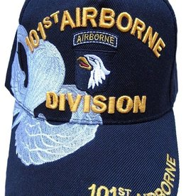 MidMil Army 101st Airborne Division Hat with Over Shadow Black