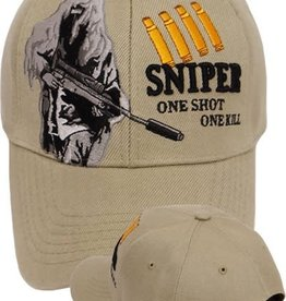 MidMil Sniper Ghillie Suit One Shot One Kill Hat Khaki