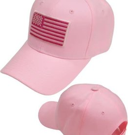 MidMil American Flag Hat Pink