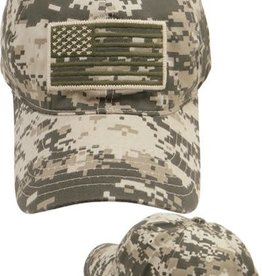 Subdued American Flag Hat ACU