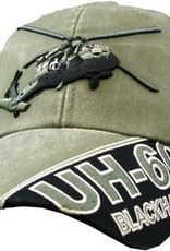 MidMil Army UH-60 Blackhawk Heliicopter Hat Olive Drab