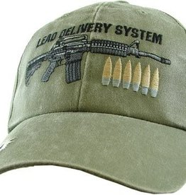 MidMil Lead Delivery System Hat with Rifle Olive Drab