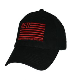 American Flag Red Friday Hat Black