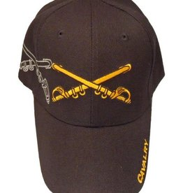 Army Cavalry Hat with Shadow Black