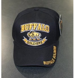 MidMil Army Buffalo Soldiers Cavalry Hat Buffalo Black