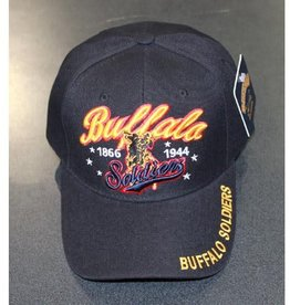 Buffalo Soldier Cavalry Hat with Rider 1866 -1944 Black
