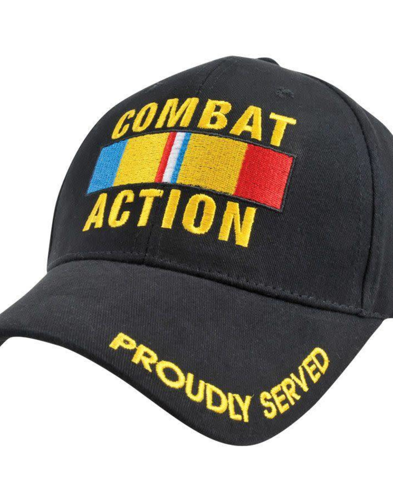 MidMil Marine Corps/Navy Combat Action Hat with Ribbon Black