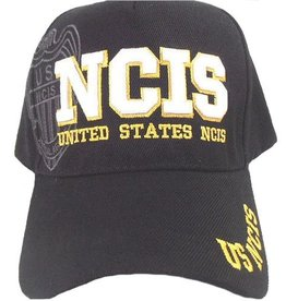 MidMil Navy NCIS Hat with Shadow Black