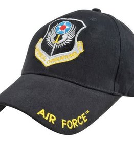 MidMil Air Force Special Operations Hat with Crest Black