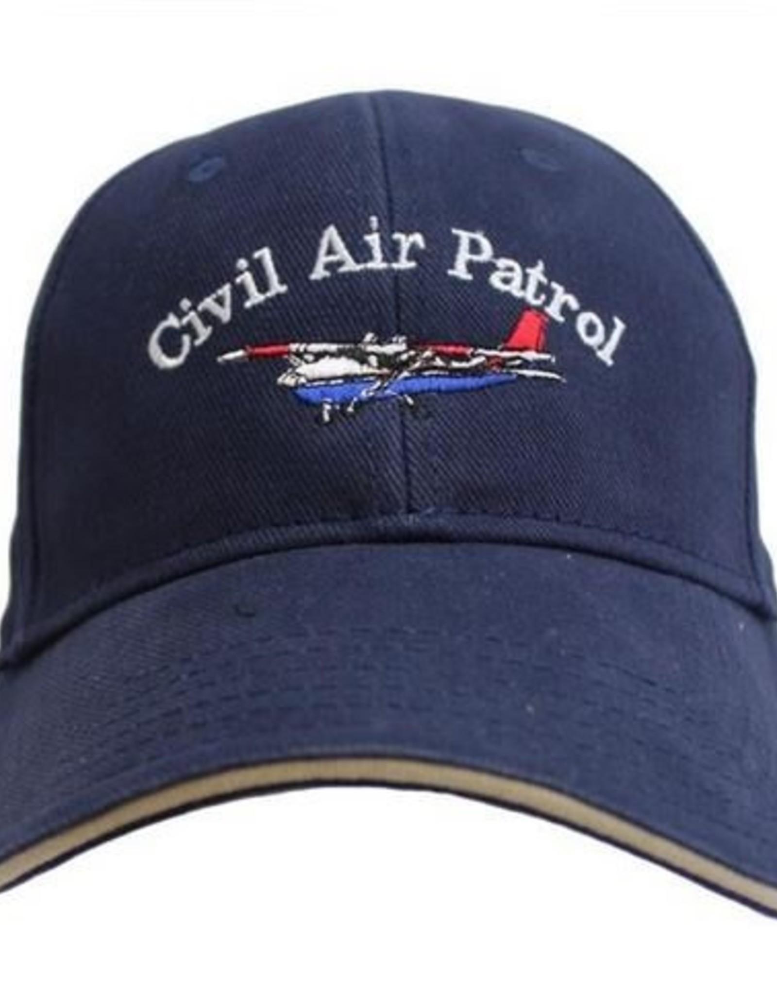 MidMil Civil Air Patrol Hat with Cessna Dark Blue