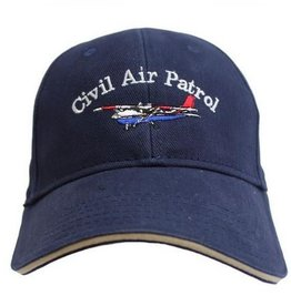 MidMil Civil Air Patrol Hat with Cessna Dark Blue