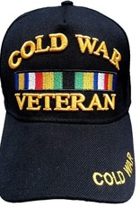 MidMil Cold War Veteran Hat with Ribbons Black