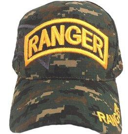 MidMil Army Ranger Hat with Shadow Woodland Digital