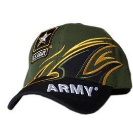 db606c1ff64 MidMil Army Hat with New Emblem and Splash Black