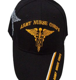 MidMil Army Nurse Corps Hat with Shadow Black