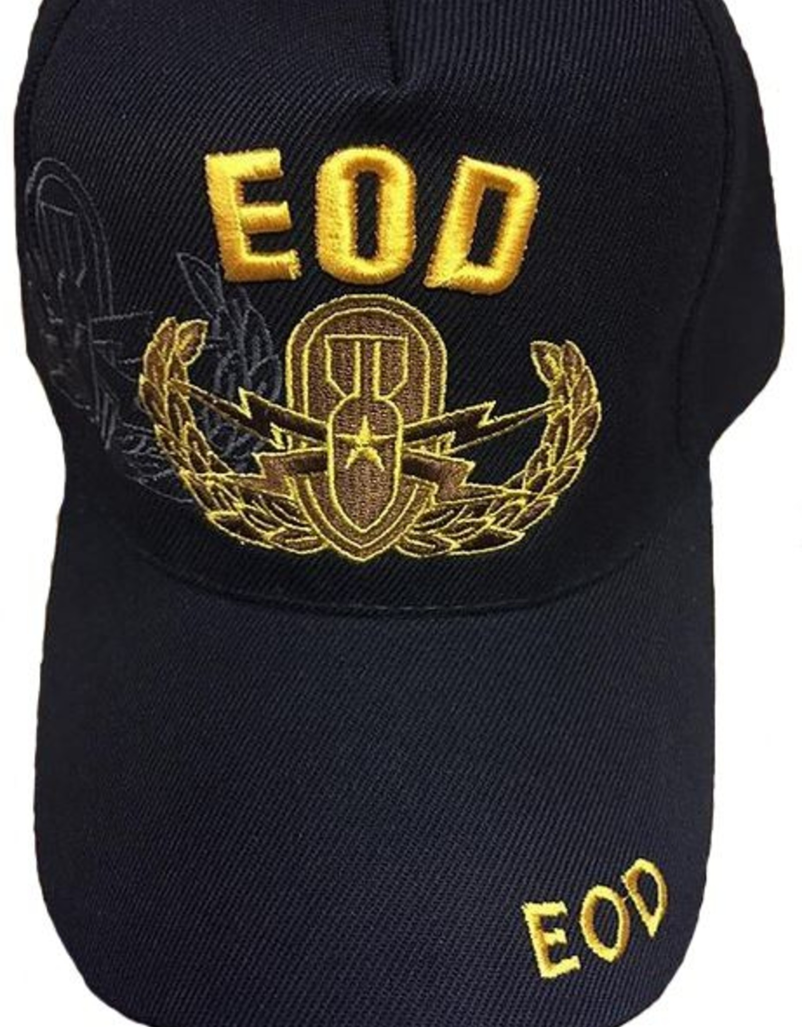 MidMil Army Senior EOD Hat with Emblem and Shadow Black