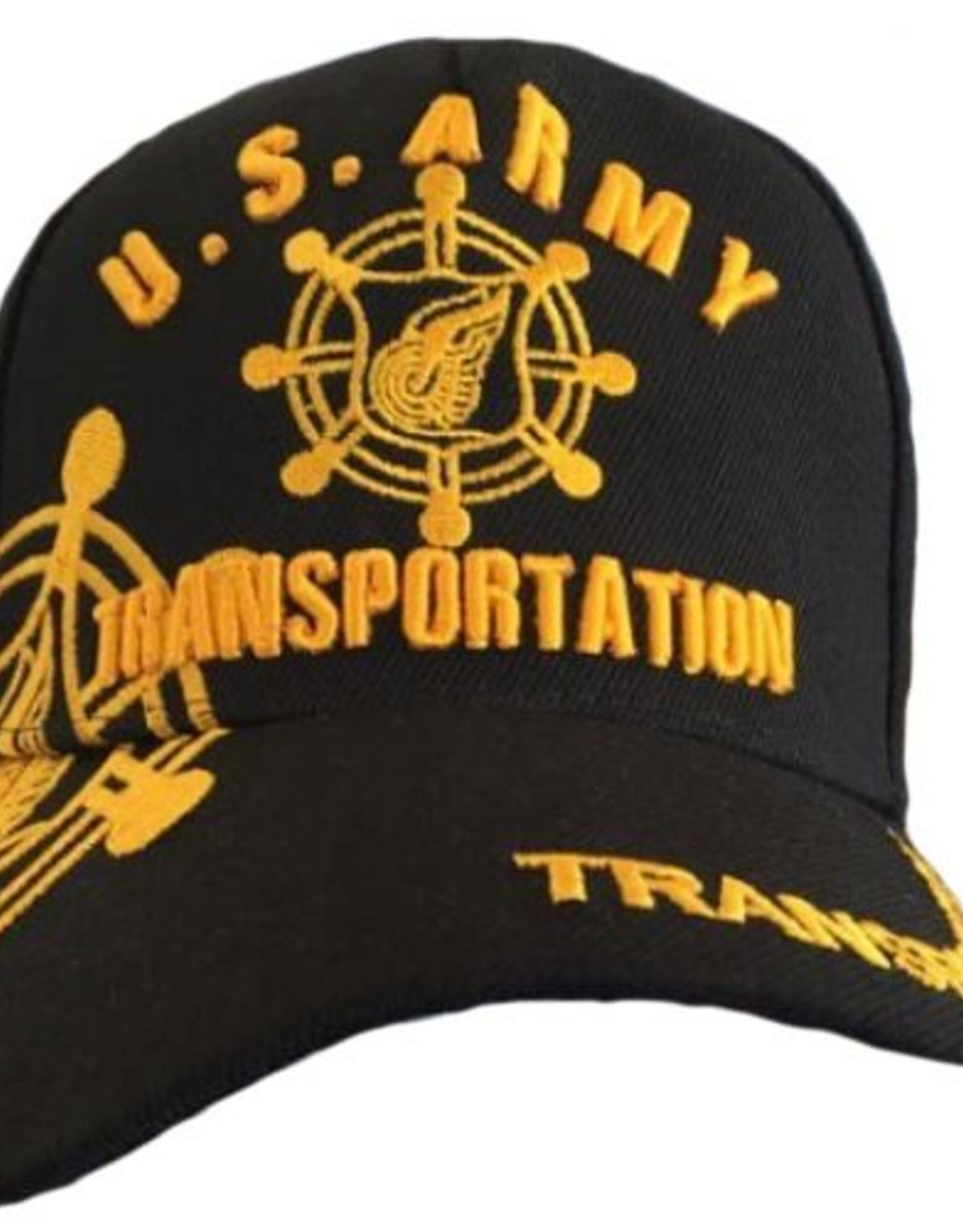 MidMil Army Transportation Hat with Over Shadow Black
