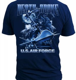 """MidMil U.S. Air Force """"Death From Above"""" T-Shirt Black"""