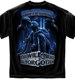 MidMil Fallen Soldier Memorial T-shirt Black