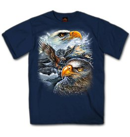 MidMil Eagles Collage T-shirt Dark Blue